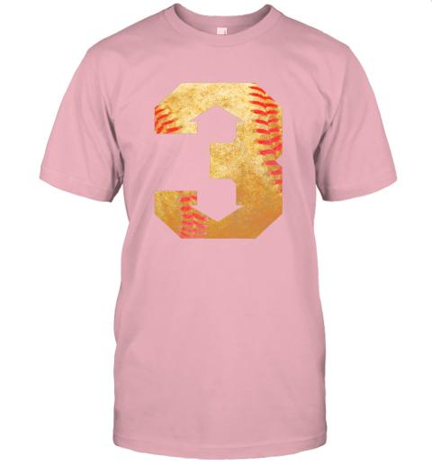 yt8u three up three down baseball 3 up 3 down jersey t shirt 60 front pink