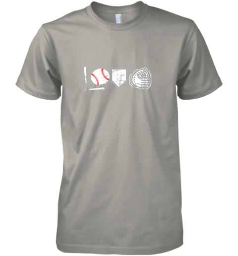 abk0 i love baseball baseball heart premium guys tee 5 front light grey