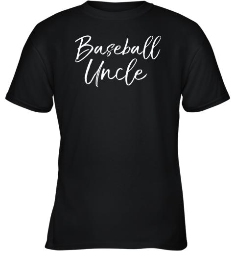 Baseball Uncle Shirt for Men Cool Baseball Uncle Youth T-Shirt