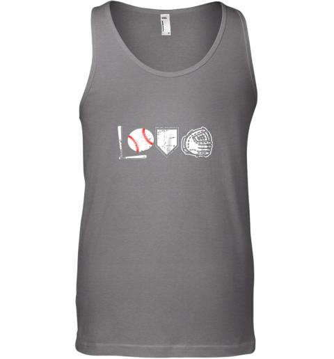 jggp i love baseball baseball heart unisex tank 17 front graphite heather
