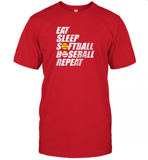 mrqo softball baseball repeat shirt cool cute gift ball mom dad jersey t shirt 60 front red