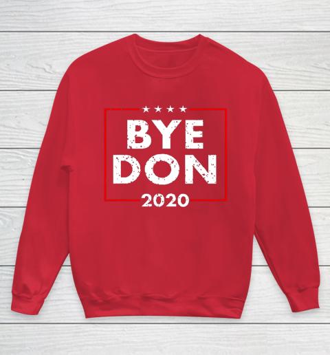 ByeDon 2020 Joe Biden 2020 American Election Youth Sweatshirt 7