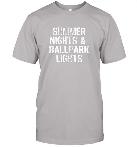 8qqh summer nights and ballpark lights baseball softball jersey t shirt 60 front ash
