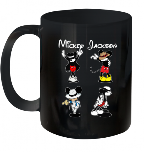 Mickey Jackson Four Style Dance Micheal Jackson Ceramic Mug 11oz