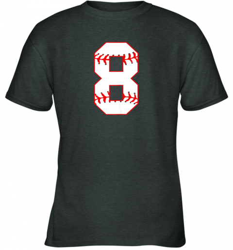 4bq0 cute eighth birthday party 8th baseball shirt born 2011 youth t shirt 26 front dark heather