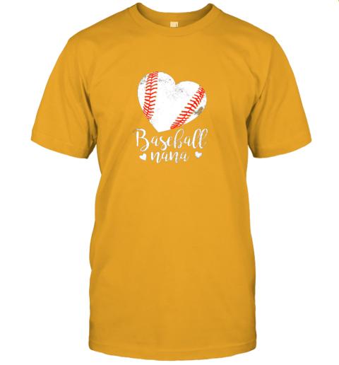 lqe2 funny baseball nana shirt gift for men women jersey t shirt 60 front gold