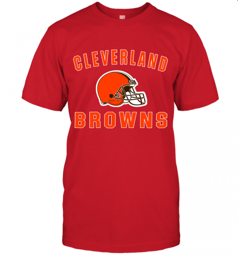 6lfm cleveland browns nfl line by fanatics branded brown victory jersey t shirt 60 front red