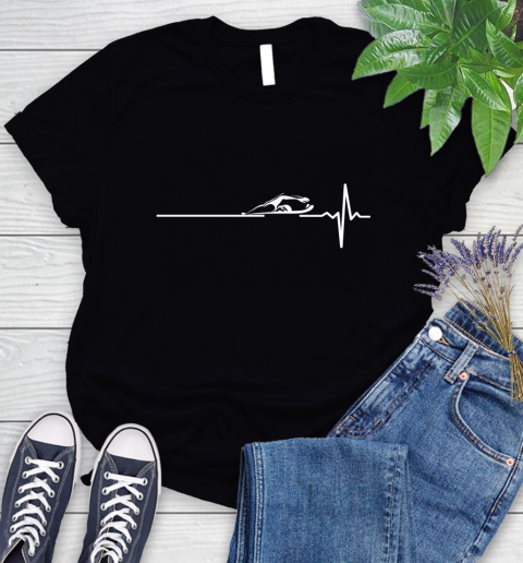 Swimming This Is How My Heart Beats Women's T-Shirt