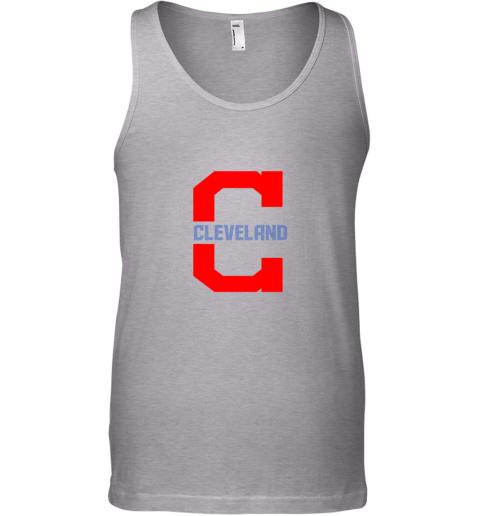 byg5 cleveland hometown indian tribe vintage for baseball unisex tank 17 front sport grey