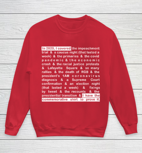 Jim Acosta Youth Sweatshirt 15