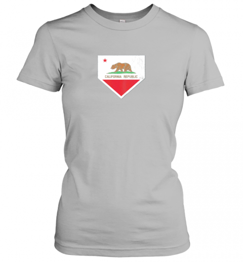 shvv vintage baseball home plate with california state flag ladies t shirt 20 front sport grey