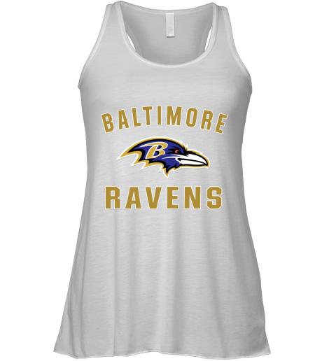 Men_s Baltimore Ravens NFL Pro Line by Fanatics Branded Gray Victory Arch T Shirt Racerback Tank