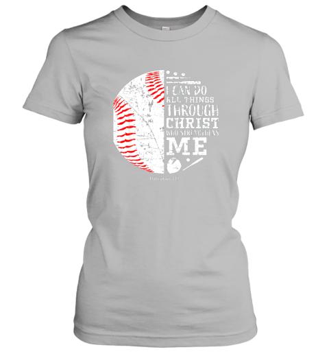 ittw christian baseball shirts i can do all things through christ ladies t shirt 20 front sport grey