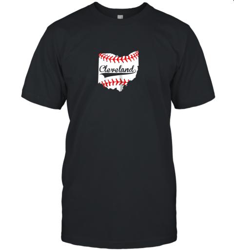 Cleveland Ohio 216 Baseball Unisex Jersey Tee