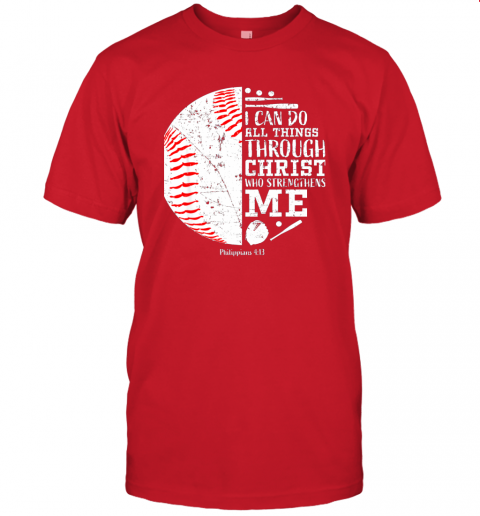 0pzj christian baseball shirts i can do all things through christ jersey t shirt 60 front red