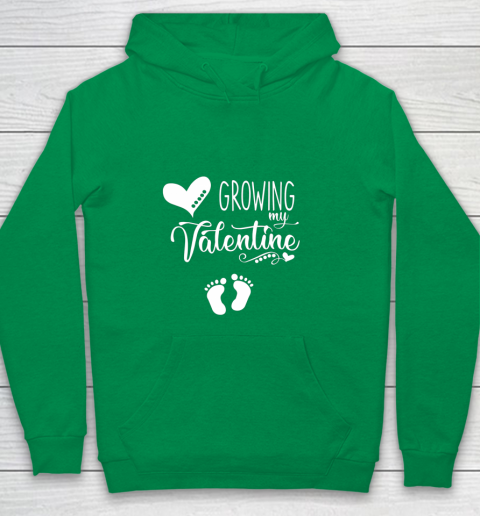 Growing my Valentine Tshirt for Wife Youth Hoodie 4
