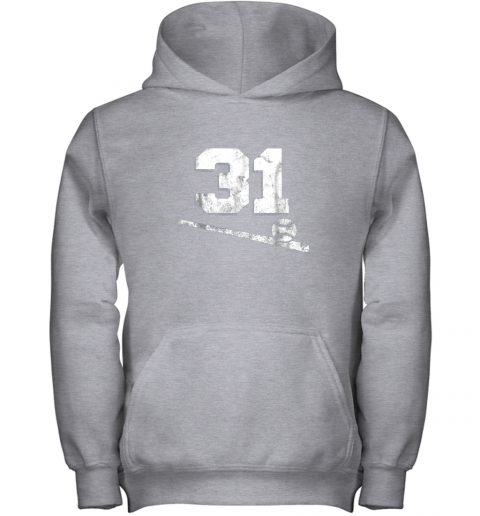 5nmw vintage baseball jersey number 31 shirt player number youth hoodie 43 front sport grey