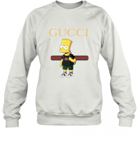 Gucci Bart Simpson Sweatshirt