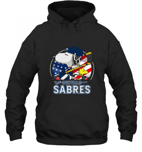 Buffalo Sabres Ice Hockey Snoopy And Woodstock NHL Hoodie
