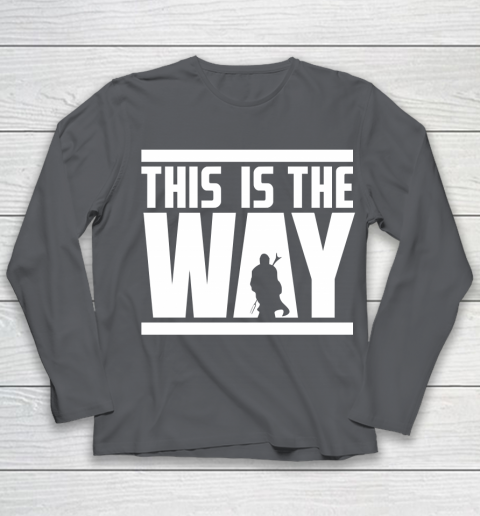 Star Wars Shirt This is the way Youth Long Sleeve 6