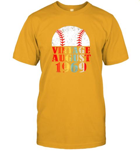 gxor born august 1969 baseball shirt 50th birthday gifts jersey t shirt 60 front gold