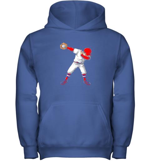 kpci dabbing baseball t shirt funny dab dance shirts boys girls youth hoodie 43 front royal