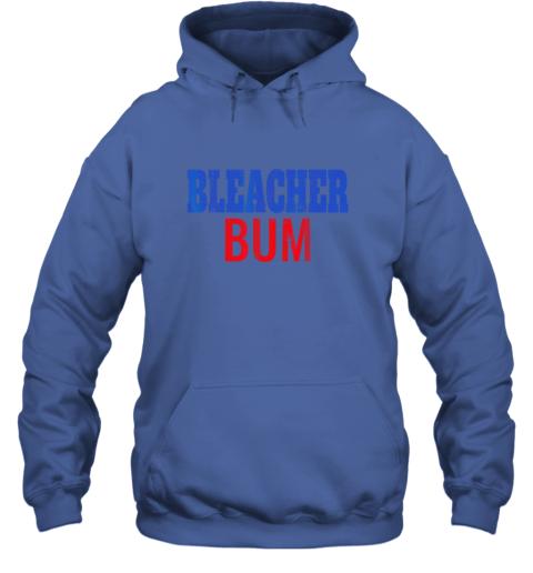 rsls bleacher bum original chicago baseball distressed hoodie 23 front royal