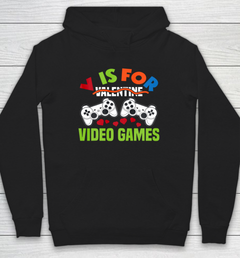 Funny Video Games Lover Valentine Day Hoodie