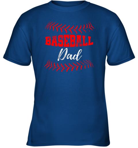 qgqx mens baseball inspired dad fathers day youth t shirt 26 front royal