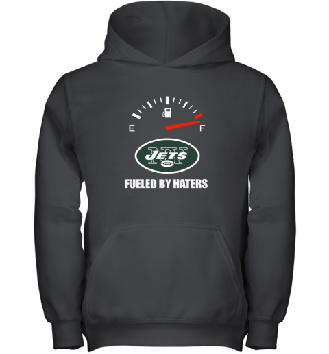 Fueled By Haters Maximum Fuel New York Jets Youth Hoodie