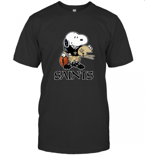 Snoopy A Strong And Proud New Orleans Saints NFL T-Shirt