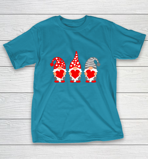 Gnomes Hearts Valentine Day Shirts For Couple T-Shirt 7