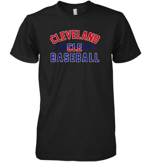 Cleveland CLE Baseball Premium Men's T-Shirt