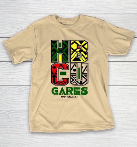 HBCU Cares College University Graduation Gift Black Schools T-Shirt 5