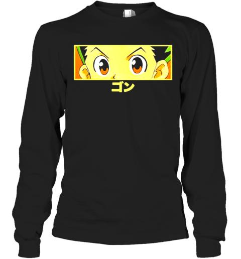Limited Edition Hypland X Hunter X Hunter Gon Eye Long Sleeve T-Shirt