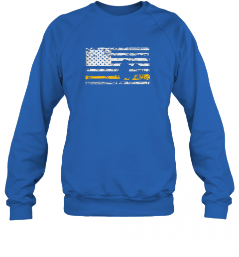 qeko softball catcher shirts baseball catcher american flag sweatshirt 35 front royal