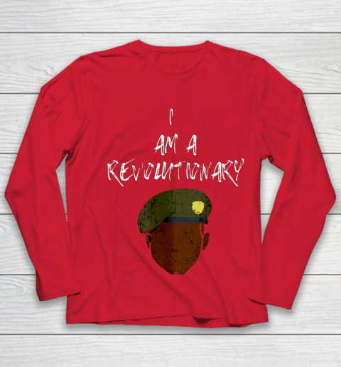 I AM A REVOLUTIONARY Fred Hampton Black Panther BHM 2 Youth Long Sleeve 8