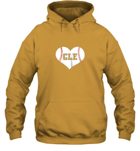 eta9 cleveland ohio baseball love heart cle gift jersey fan hoodie 23 front gold