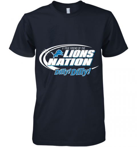 kbug a true friend of the lions nation premium guys tee 5 front midnight navy