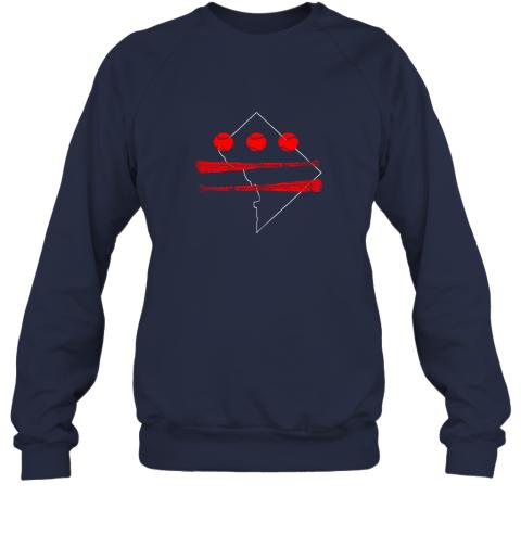 ovti washington dc map capitol baseball flag sweatshirt 35 front navy