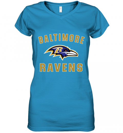 4thx mens baltimore ravens nfl pro line by fanatics branded gray victory arch t shirt women v neck t shirt 39 front sapphire