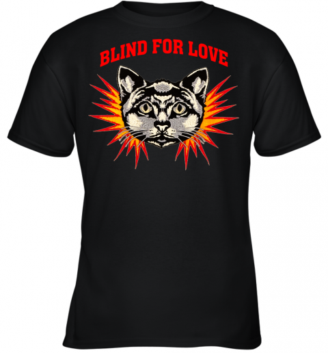 Gucci 2019 Cat Blind For You Youth T-Shirt