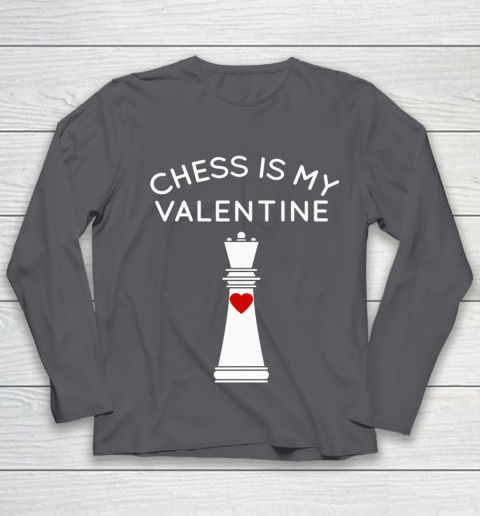 Chess Is My Valentine Youth Long Sleeve 6
