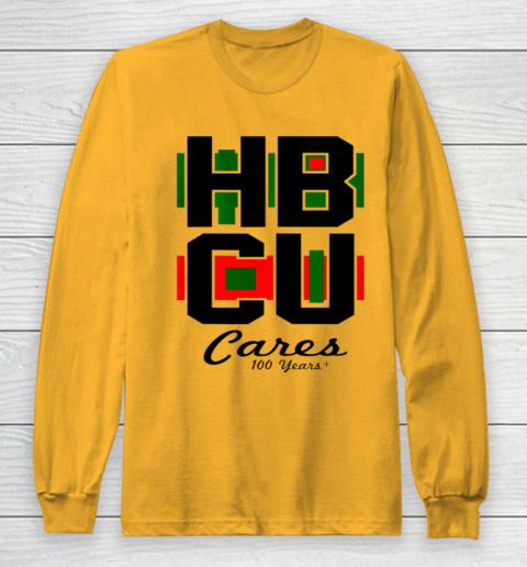 HBCU Cares College University Graduation Gift Black School Long Sleeve T-Shirt 2