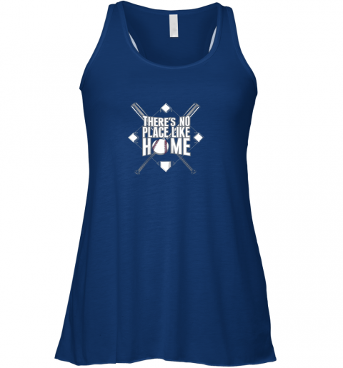 pwwl there39 s no place like home baseball tshirt mom dad youth flowy tank 32 front true royal