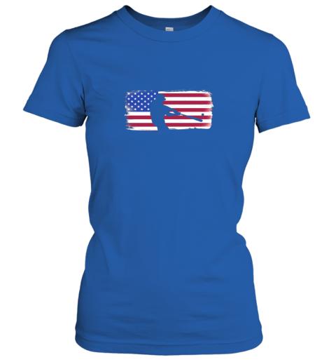 vovp usa american flag baseball player perfect gift ladies t shirt 20 front royal