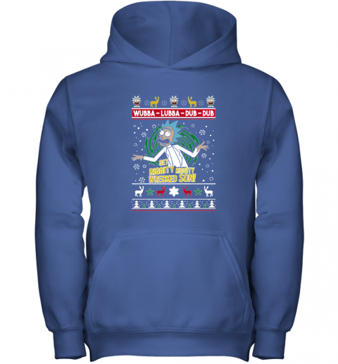 Get Riggity Wrecked Son Ugly Christmas Adult Crewneck Youth Hoodie
