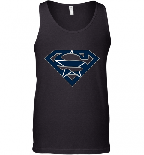 We Are Undefeatable The Dallas Cowboys x Superman NFL Tank Top
