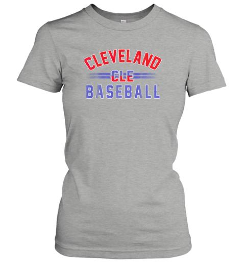6xkc cleveland cle baseball ladies t shirt 20 front ash