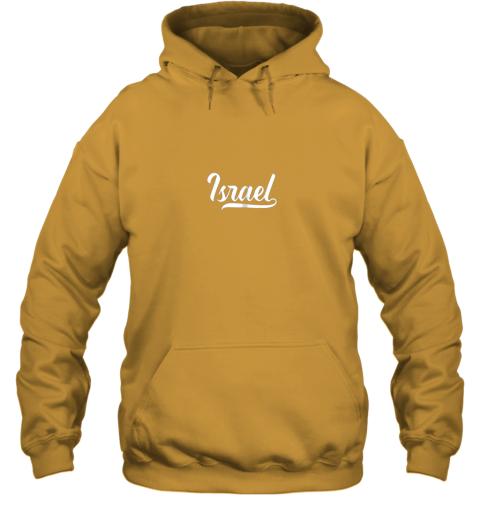 0gt5 israel baseball national team fan cool jewish sport hoodie 23 front gold